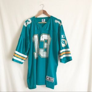 timeless design e1066 f62a4 Vintage Miami Dolphins Dan Marino Starter Jersey